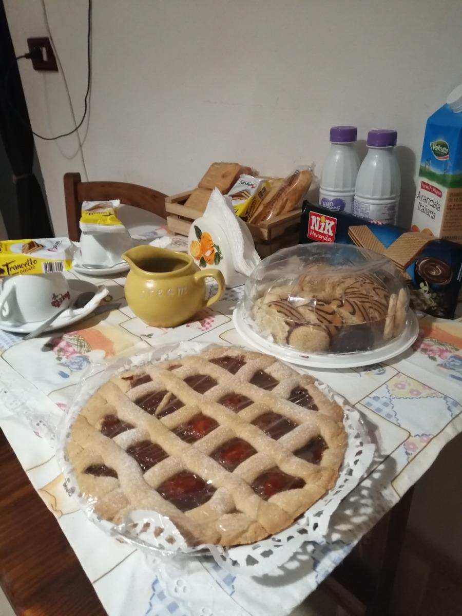 La colazione di LA CASA DI PIETRA