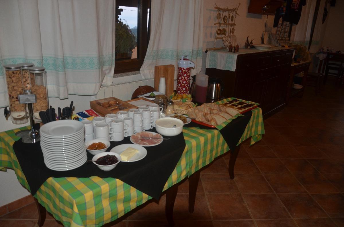 La colazione di AGRITURISMO COSTA VERDE