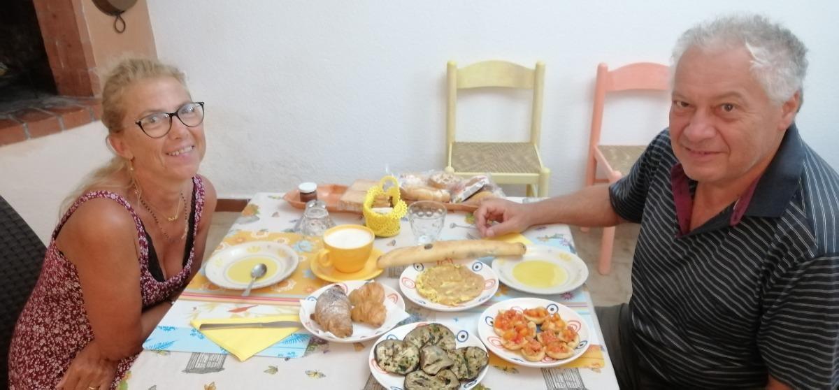 La colazione di VILLETTA ORCHIDEA