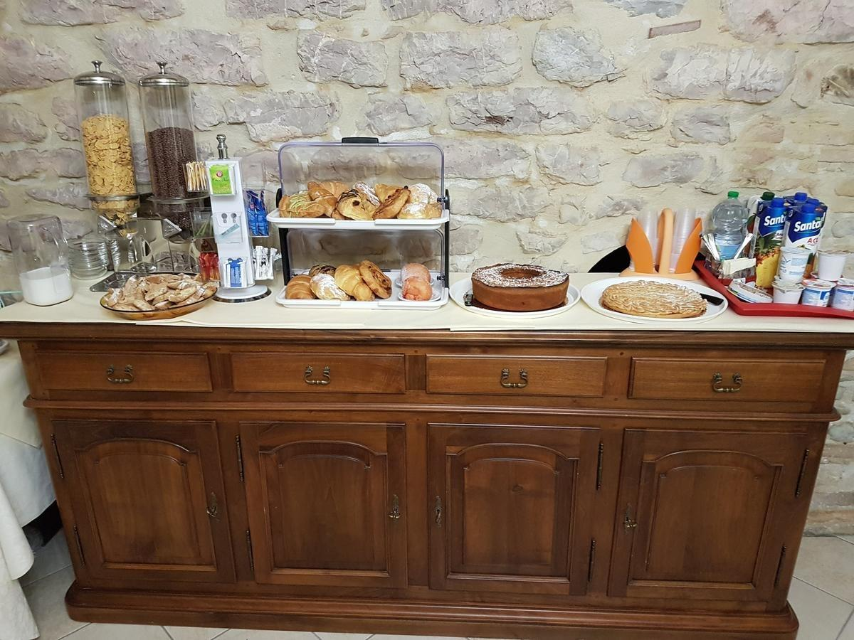 La colazione di HOTEL PONTE SAN VITTORINO