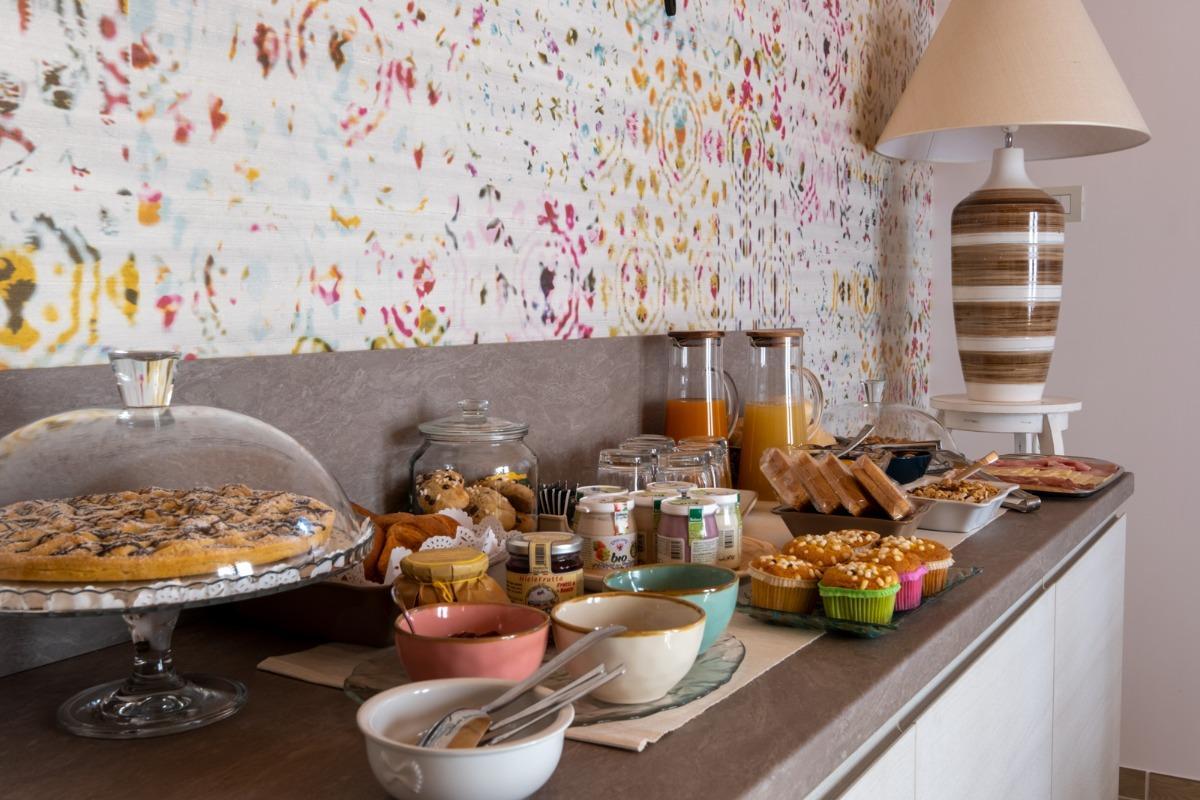 La colazione di FONTE OBLITA - B&B ECO LODGE