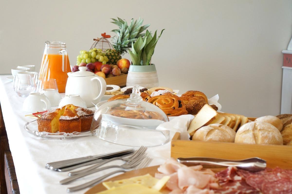 La colazione di VILLA LEDA