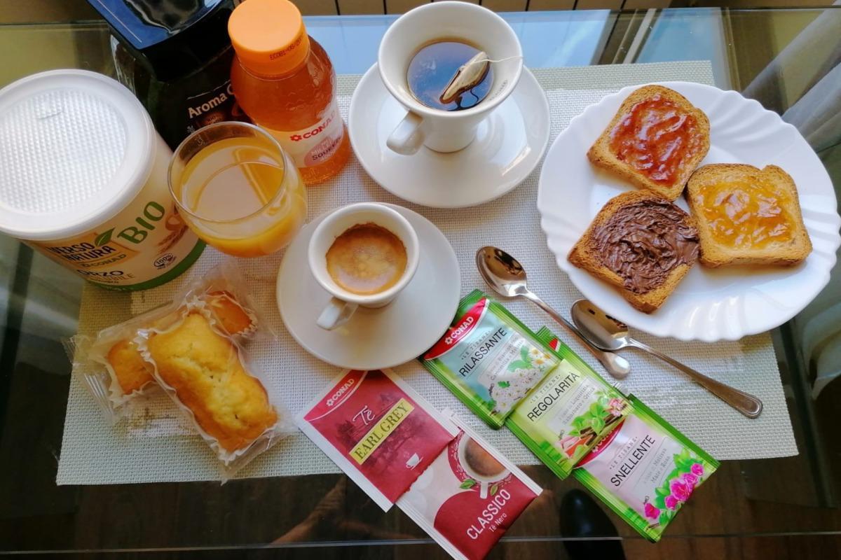 La colazione di TERMINI SMART ROOMS2