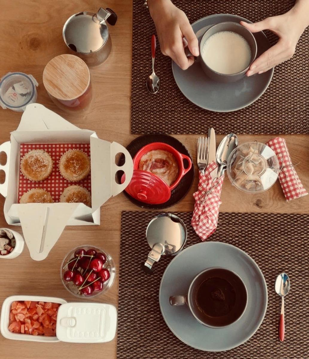 La colazione di CÀ ROSSA - SUITE AND BREAKFAST