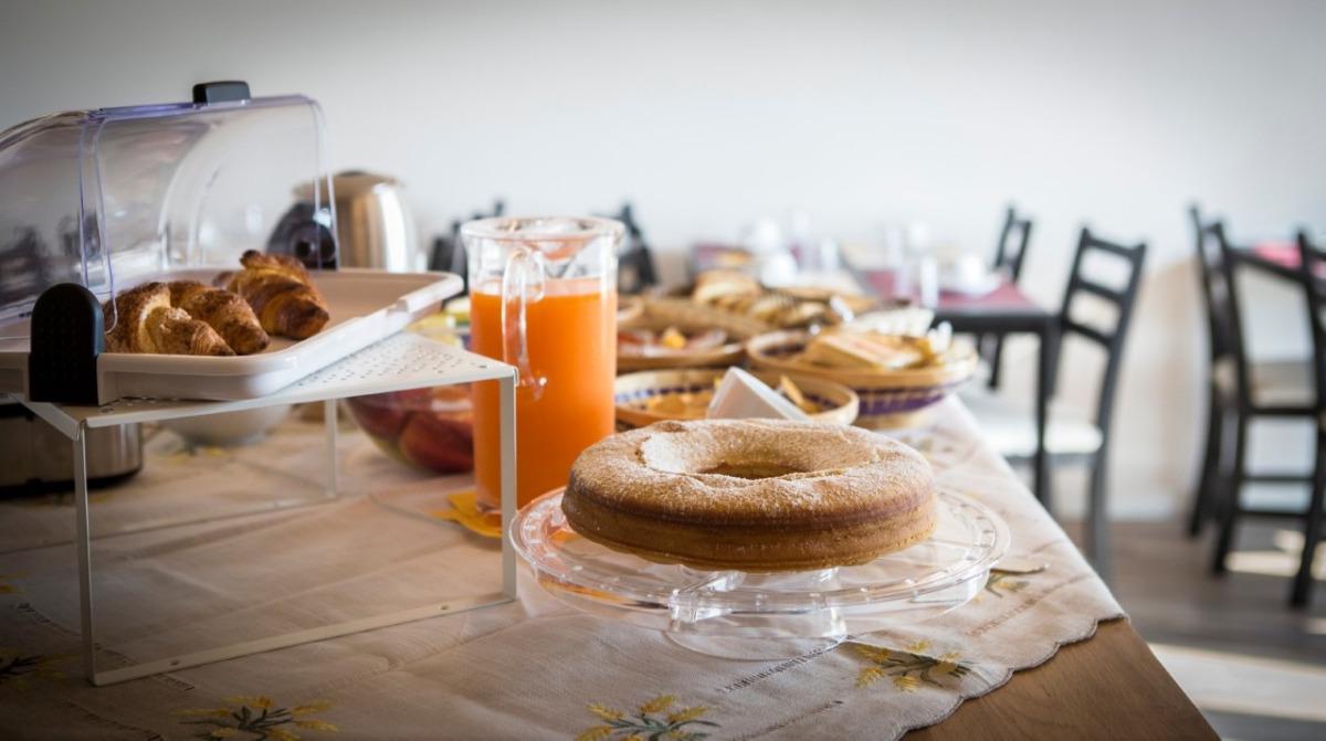 La colazione di CA' DEL PASSERO