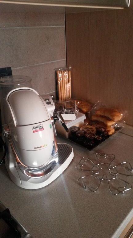 La colazione di SAINT GEORGE APARTMENTS