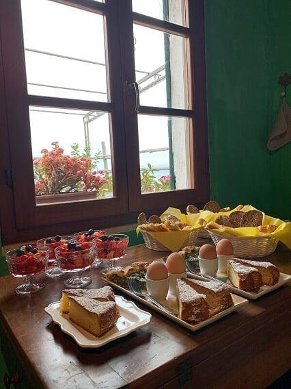 La colazione di AFFITTACAMERE SAN MARTINO