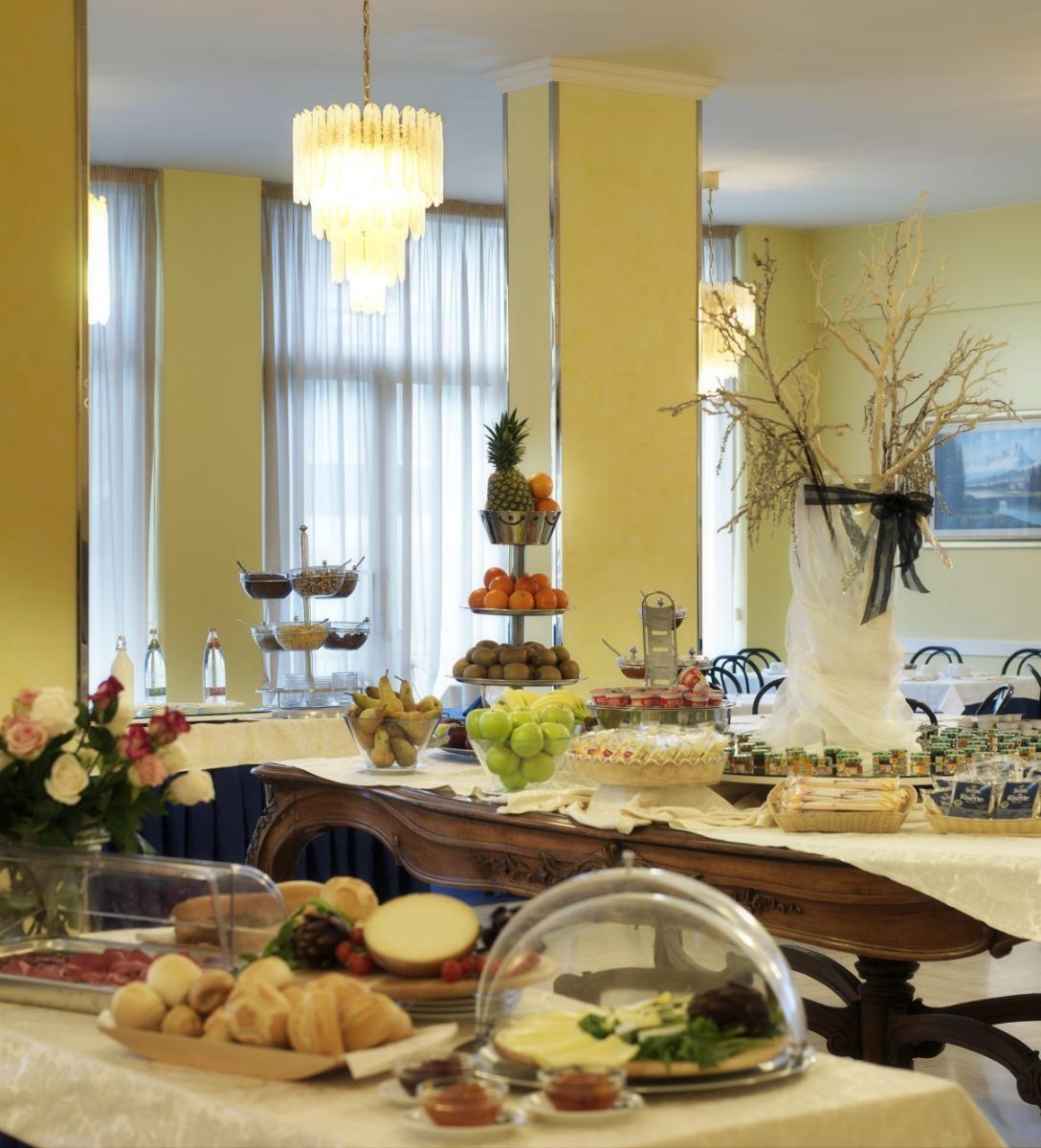La colazione di HOTEL BIANCAMANO