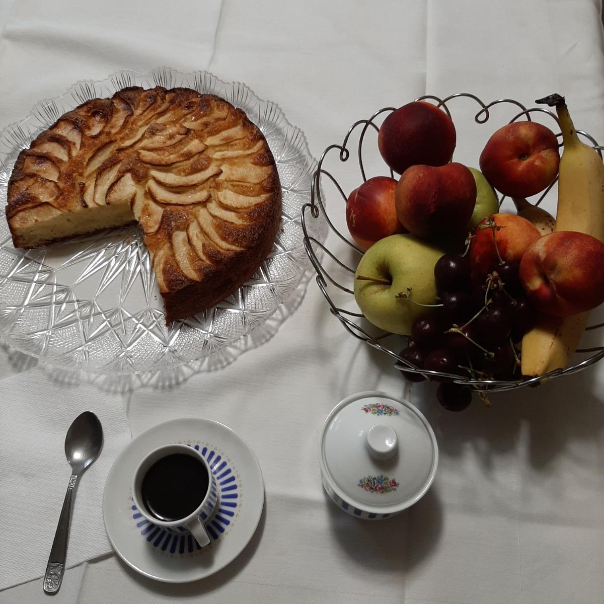 La colazione di B&B CASA GUARESCHI
