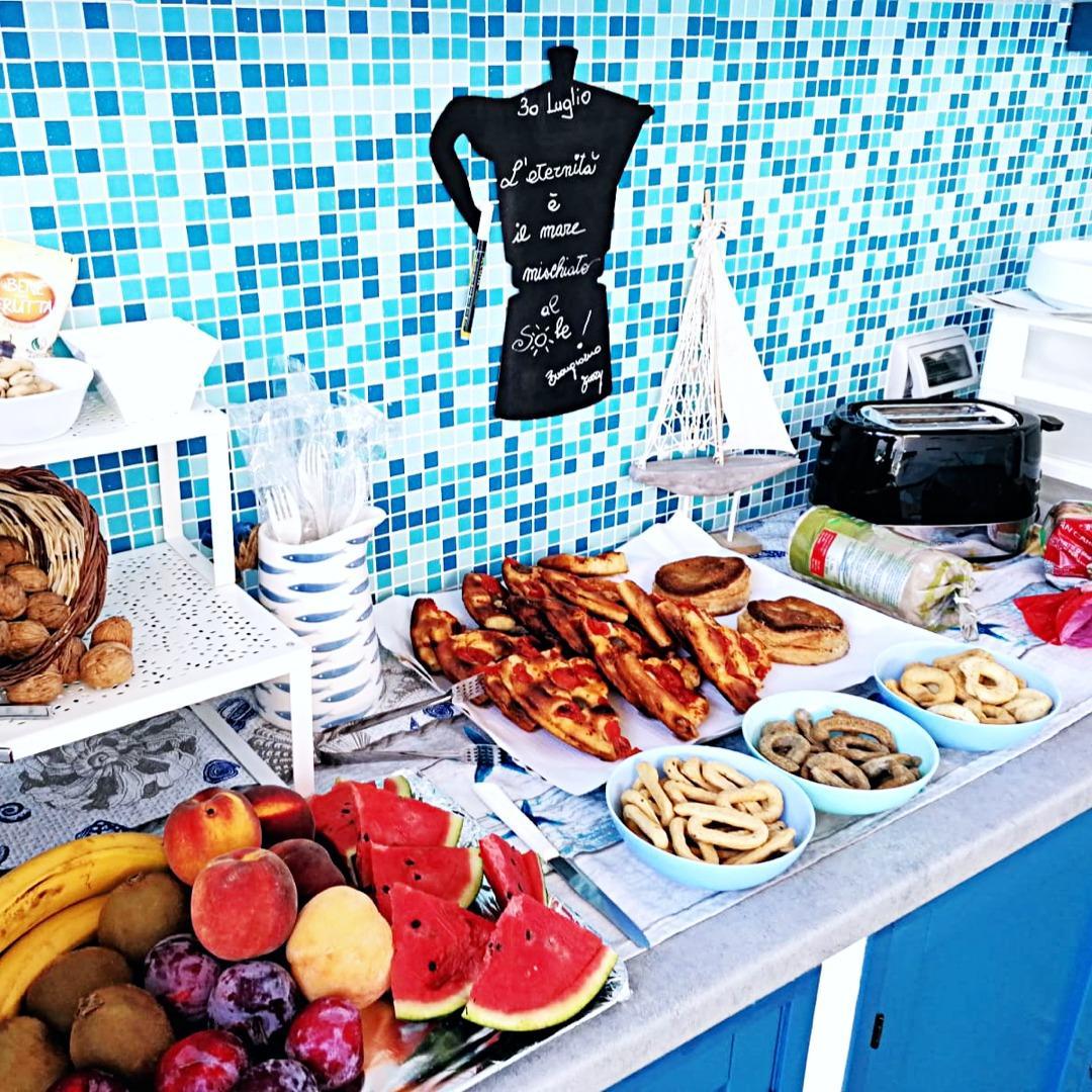 La colazione di B&B ALTO SALENTO