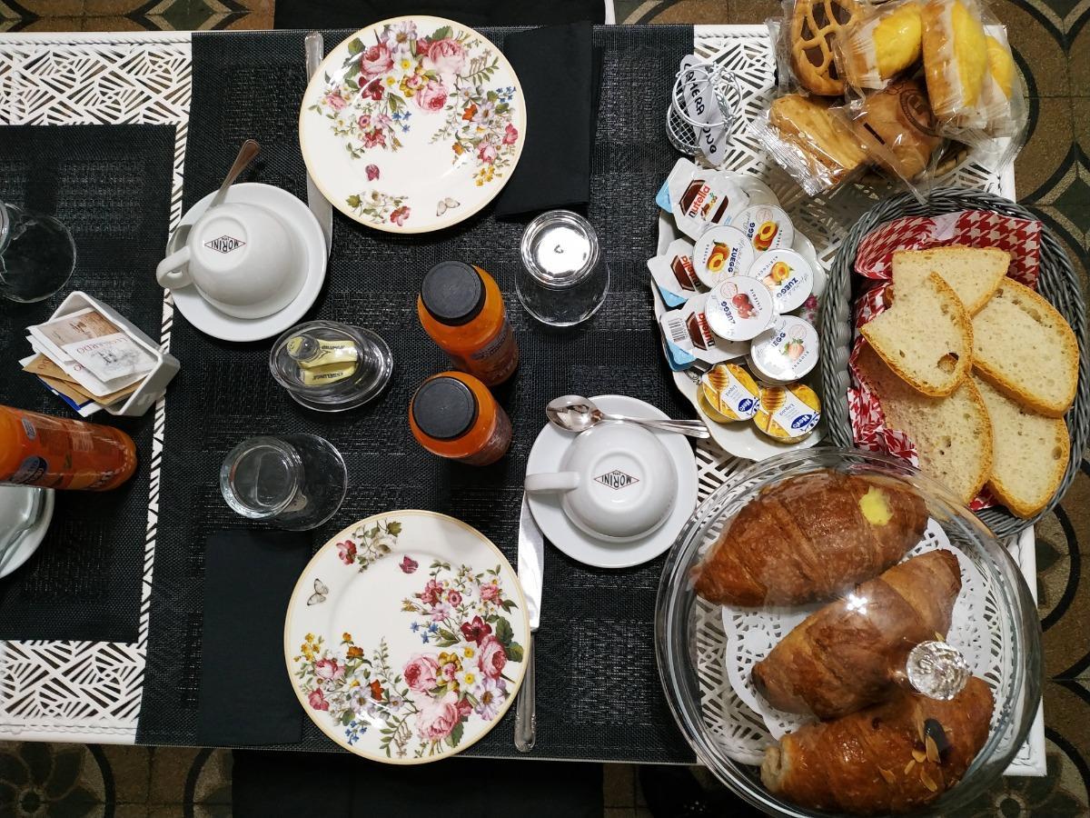 La colazione di CASA SIGNORA CLAUDIA