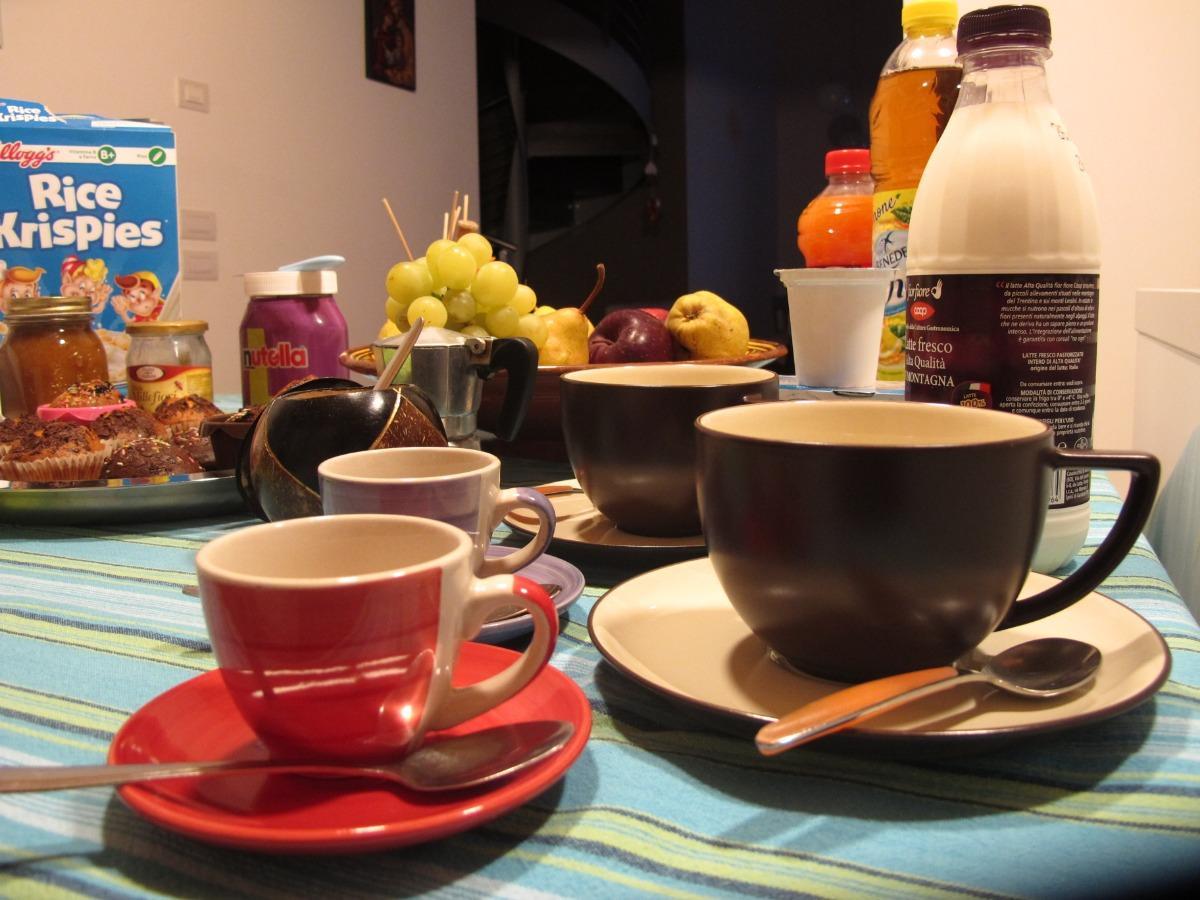 La colazione di B&B BARATOFF
