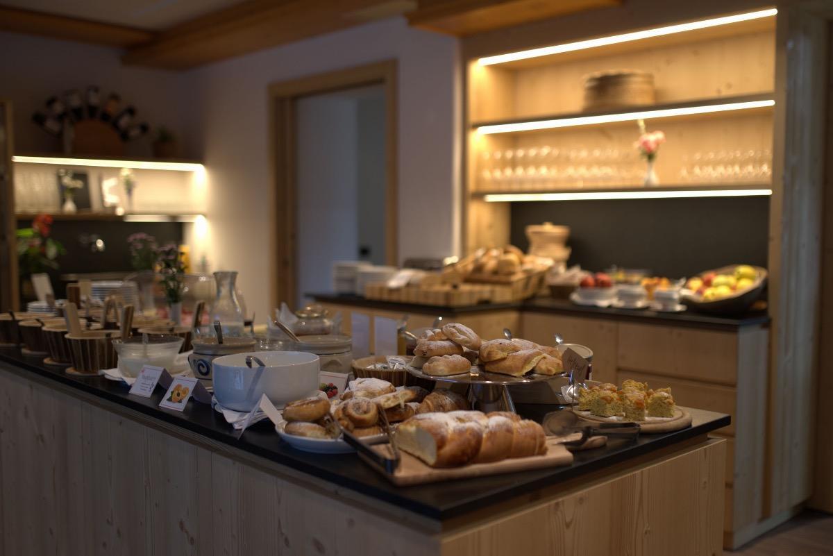 La colazione di BERGHOTEL SANVÍ