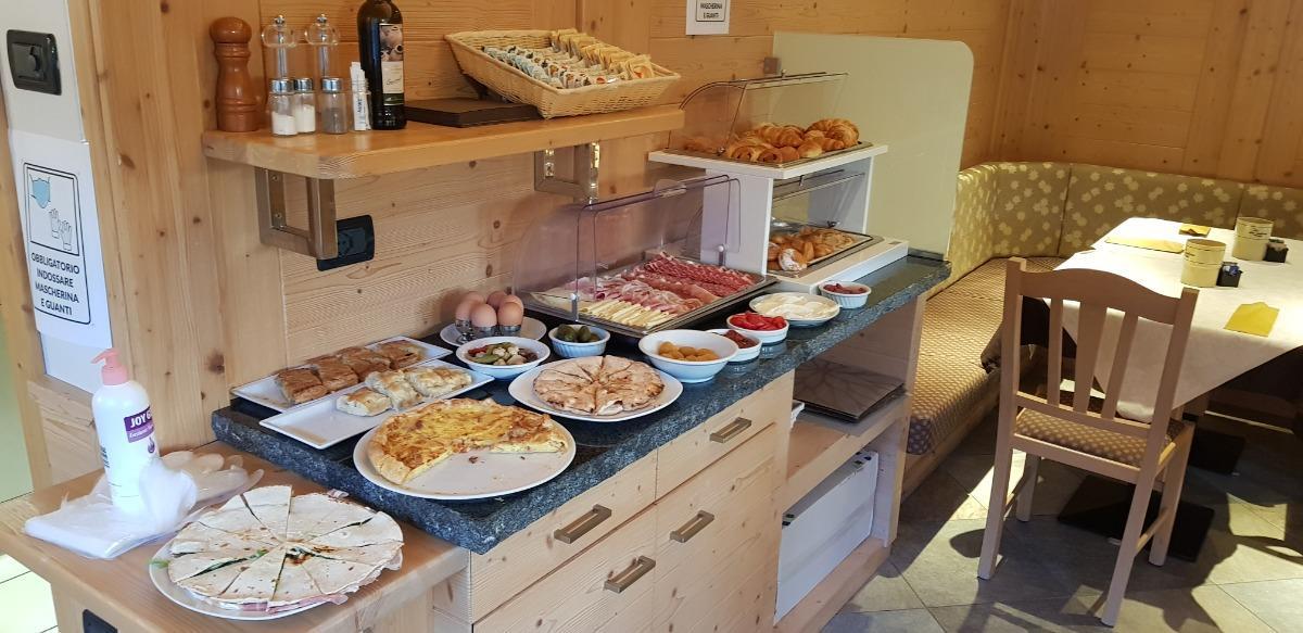 La colazione di GARNI MINIGOLF