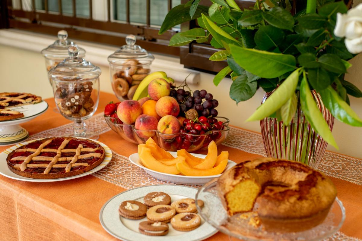La colazione di VILLA TIGLI LUXURY