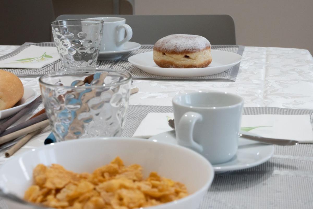La colazione di B&B SIBI