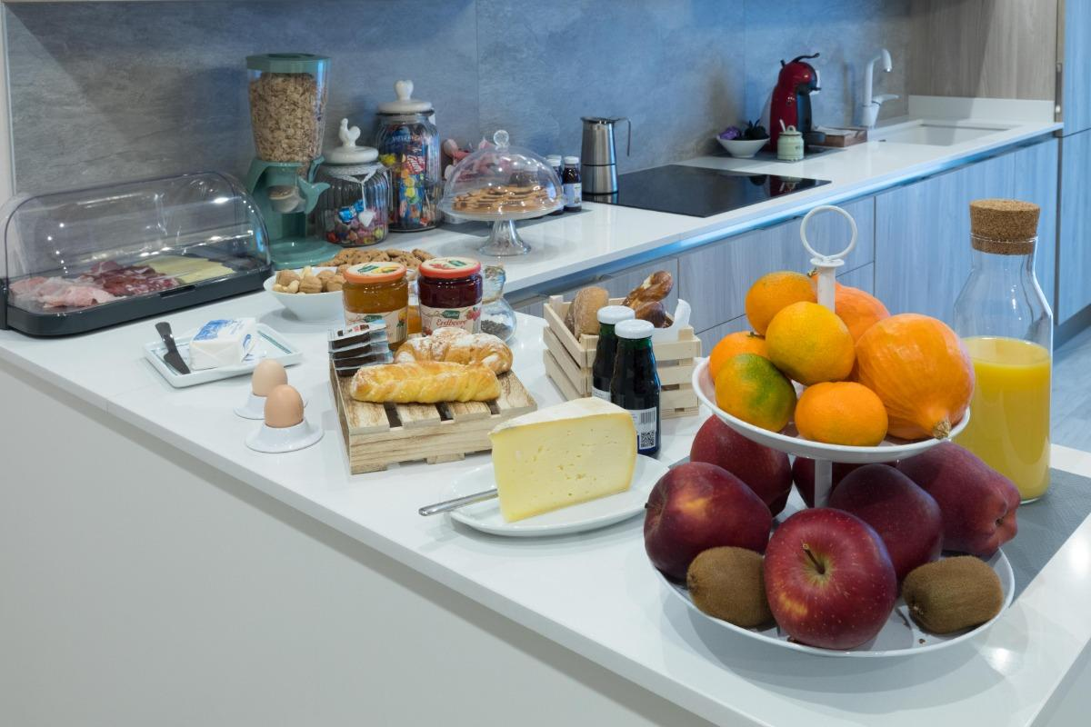 La colazione di RESIDENZA CONCA VERDE B&B