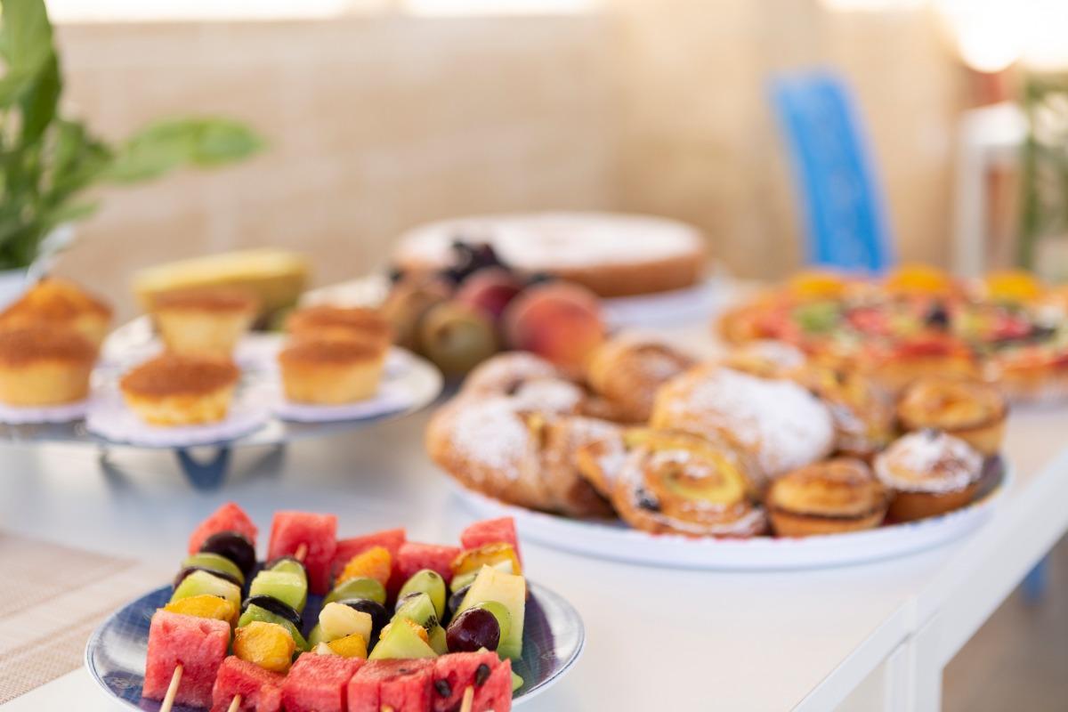 La colazione di DOMUS TERRA MARE