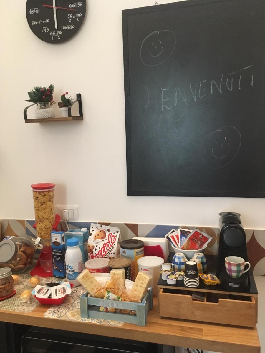 La colazione di QUARTIERI HOME HOLIDAY