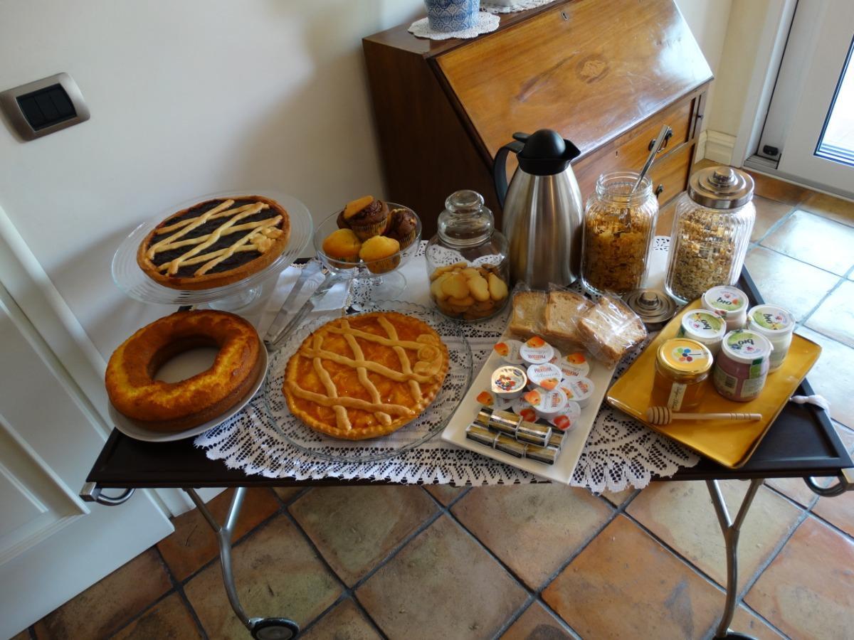 La colazione di B&B ERCOLE PRIMO D'ESTE