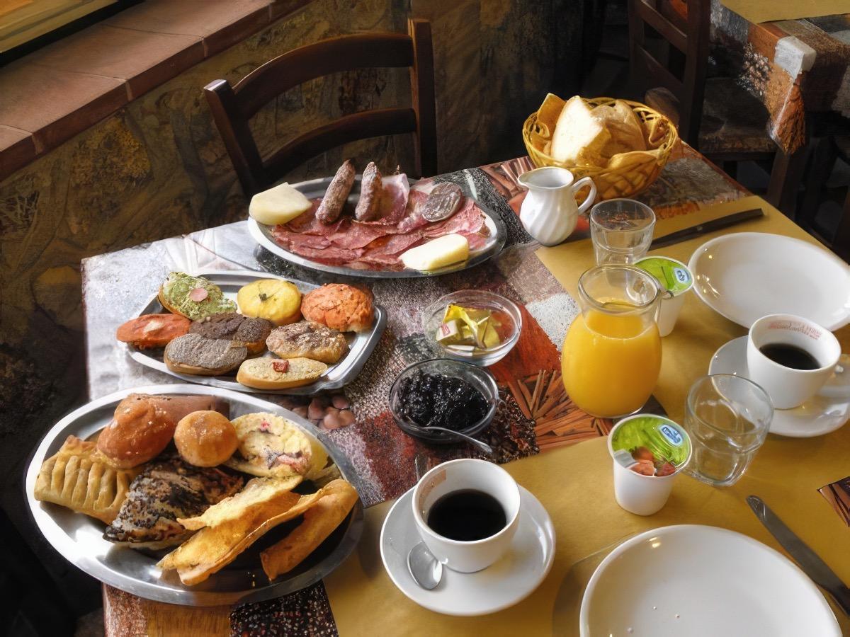 La colazione di B&B IL CEPPO