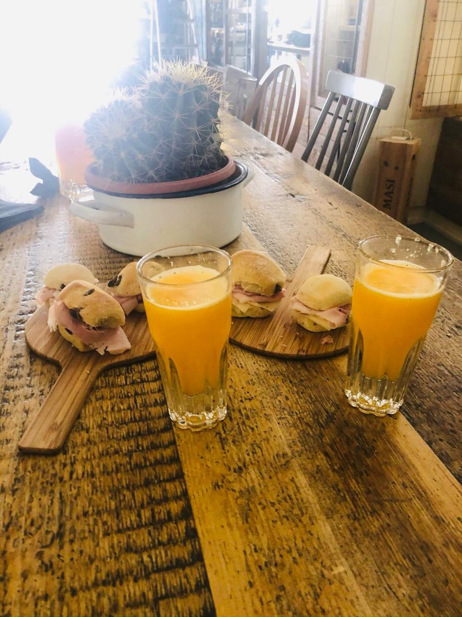 La colazione di PALAZZO SANSEVERINO