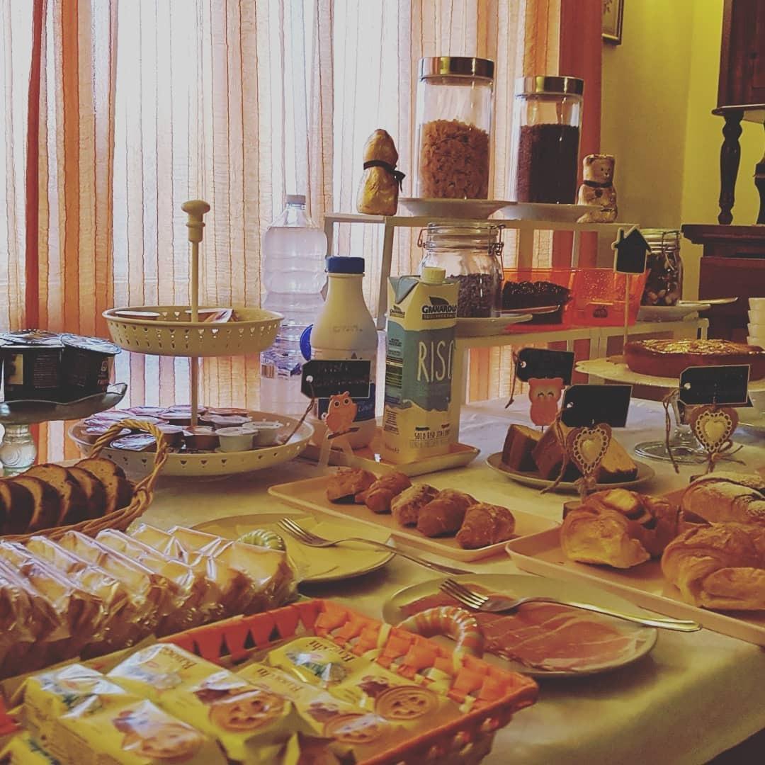 La colazione di LA CASA DI ZEFIRO
