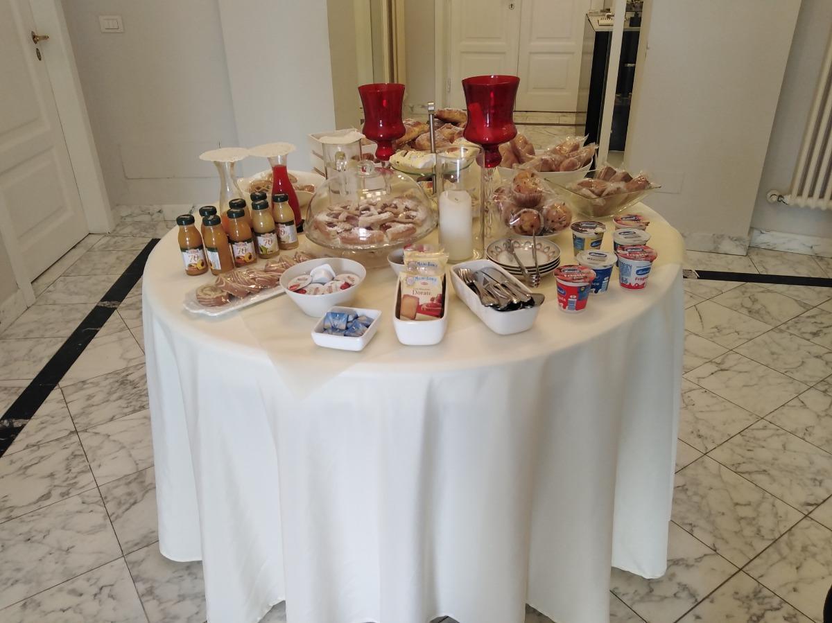 La colazione di COMPASSO SUITES