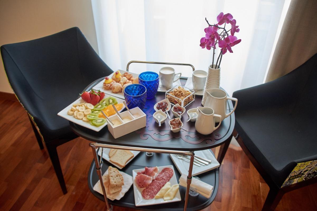 La colazione di ARTISTIC CHARMING HOUSE