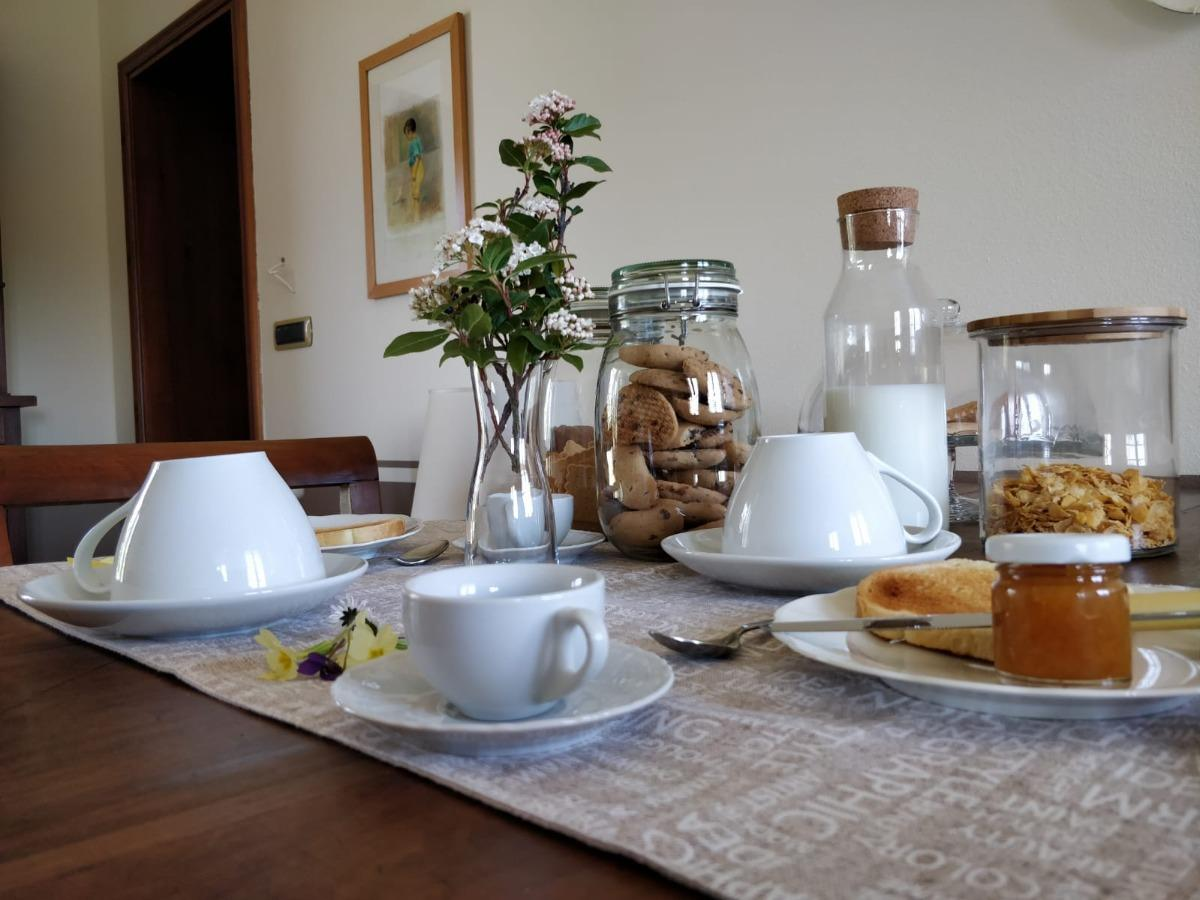 La colazione di B&B IL CASTELLARO