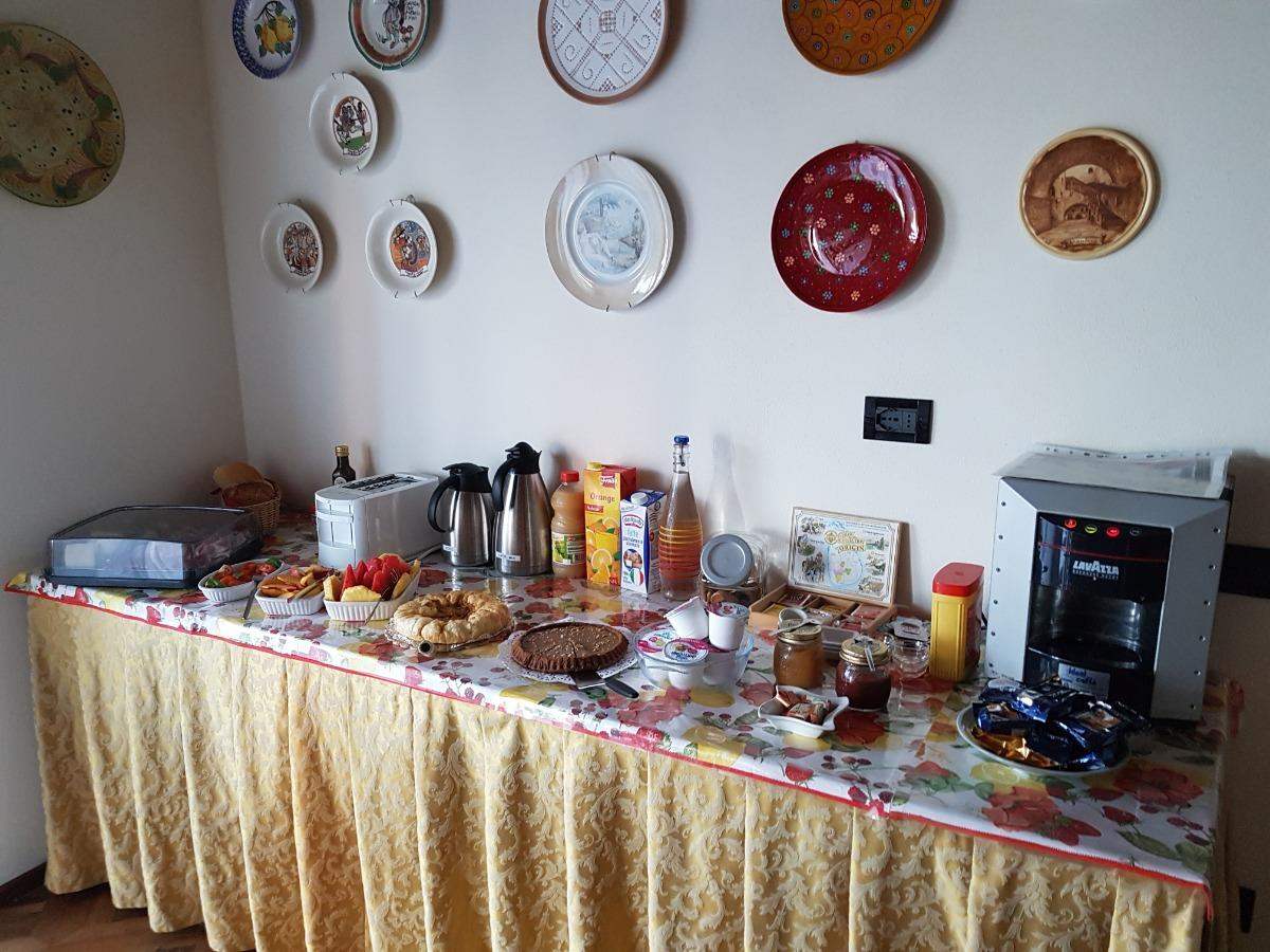 La colazione di CASA PAGLIETTE