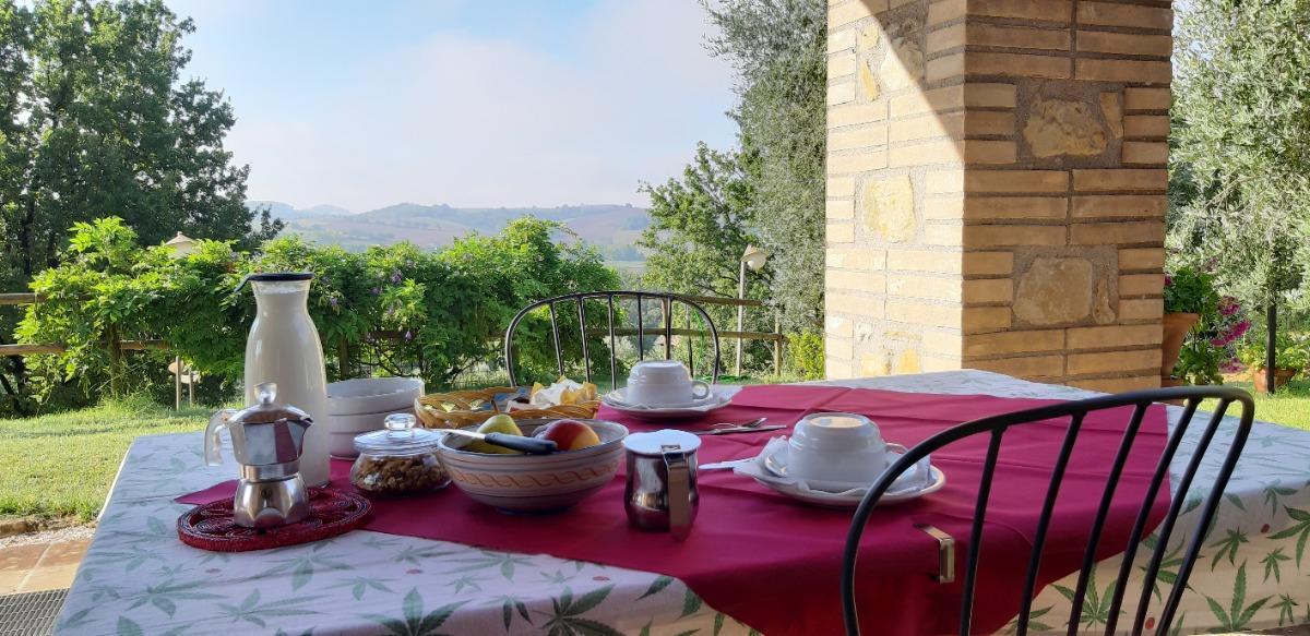 La colazione di POZZO DEI COCCI