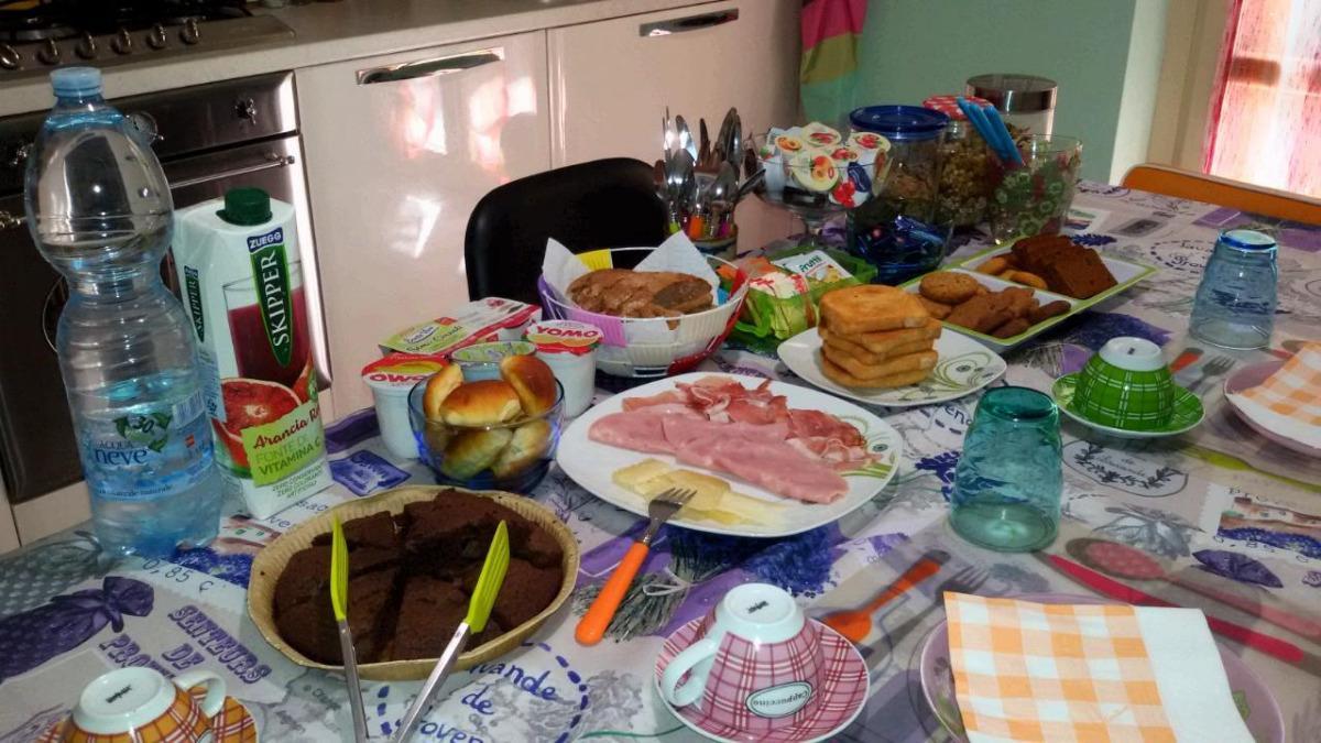La colazione di CASA DEL GIRAMONDO B&B
