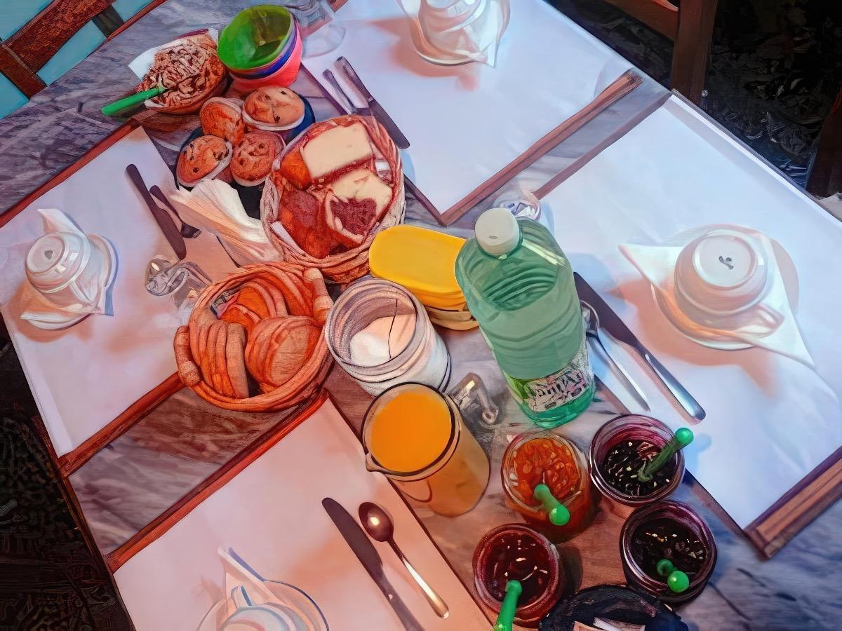 La colazione di LORD BYRON
