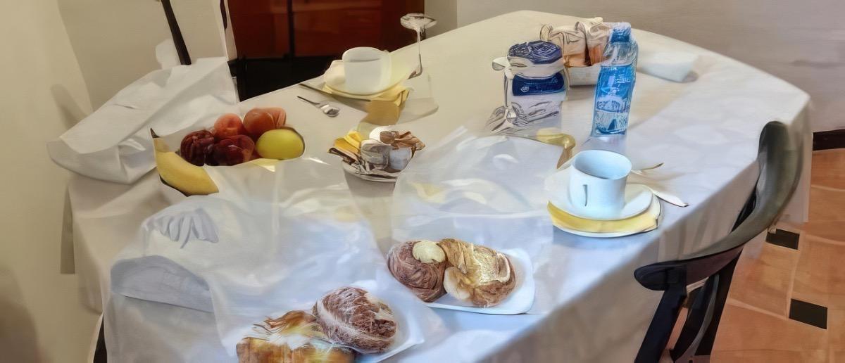 La colazione di B&B LA LUNA