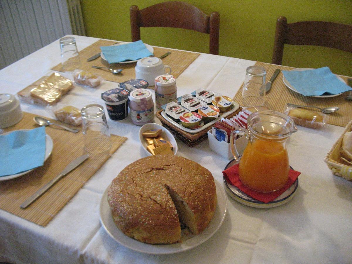 La colazione di IL GIARDINO DI TIZ
