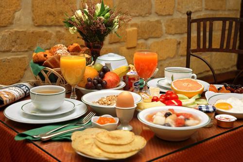 La colazione di B&B ALLA PERGOLA