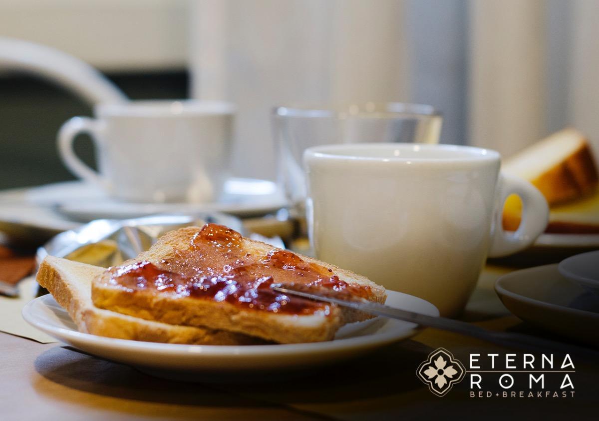 La colazione di ETERNA ROMA