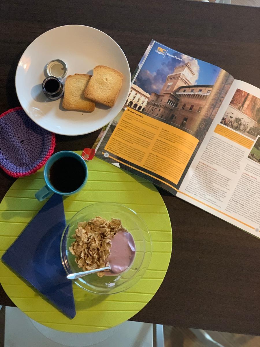 La colazione di GUEST HOUSE DELIZIA ESTENSE