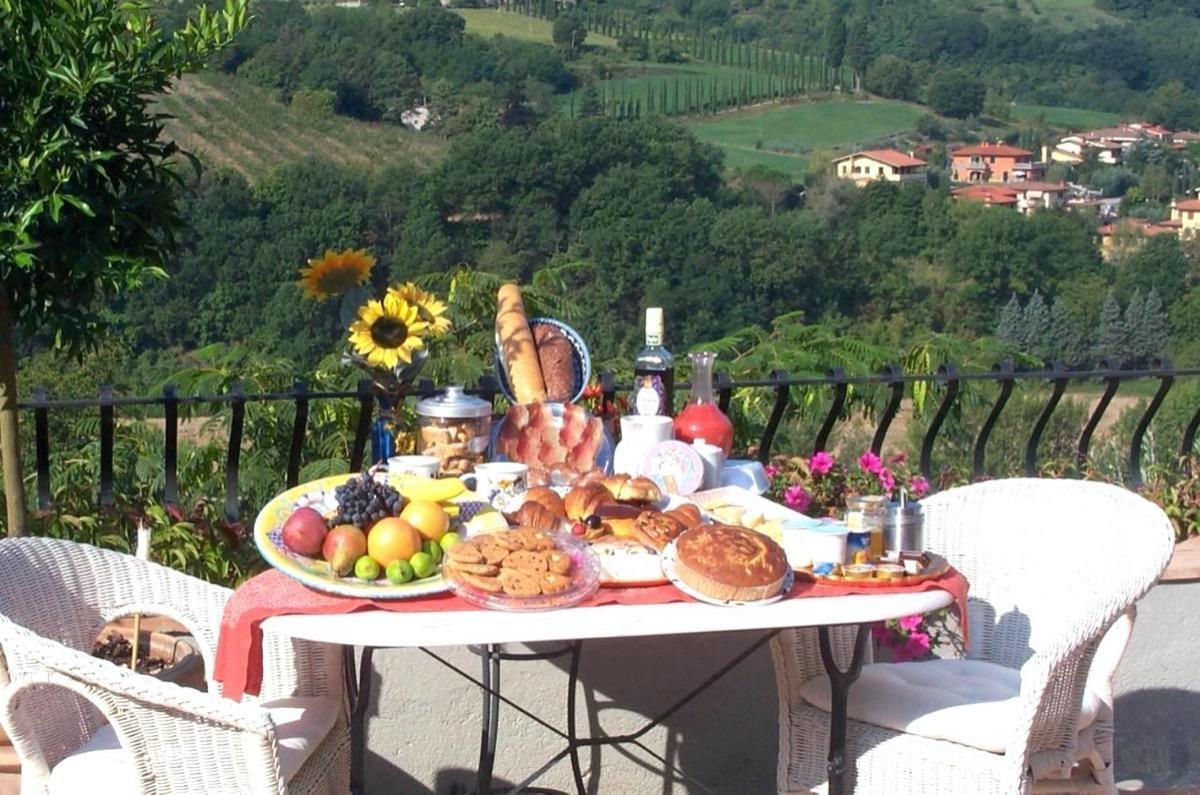 La colazione di B&B PINO DEL CAPITANO