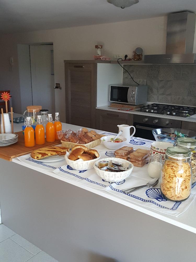 La colazione di B&B MONTEBELLO