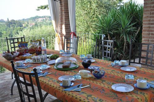 La colazione di IL CASOLARE DI BONCI