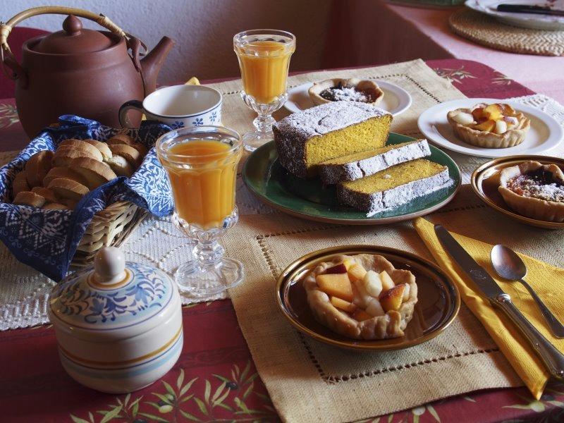 La colazione di CASA LA VALLE