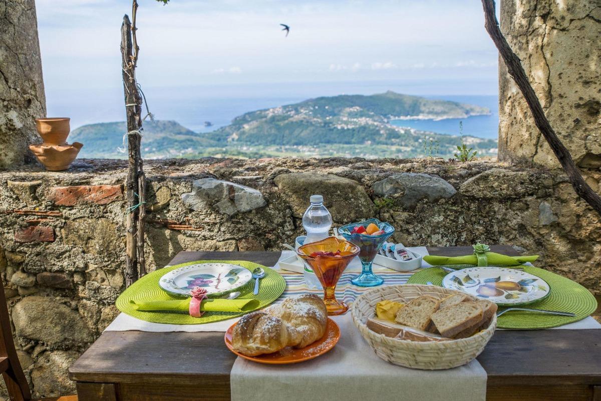 La colazione di IL CASTELLO DI SAN SERGIO