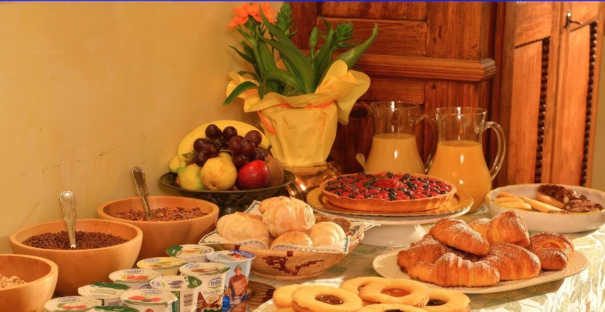 La colazione di B&B LA CASA DEI TINTORI