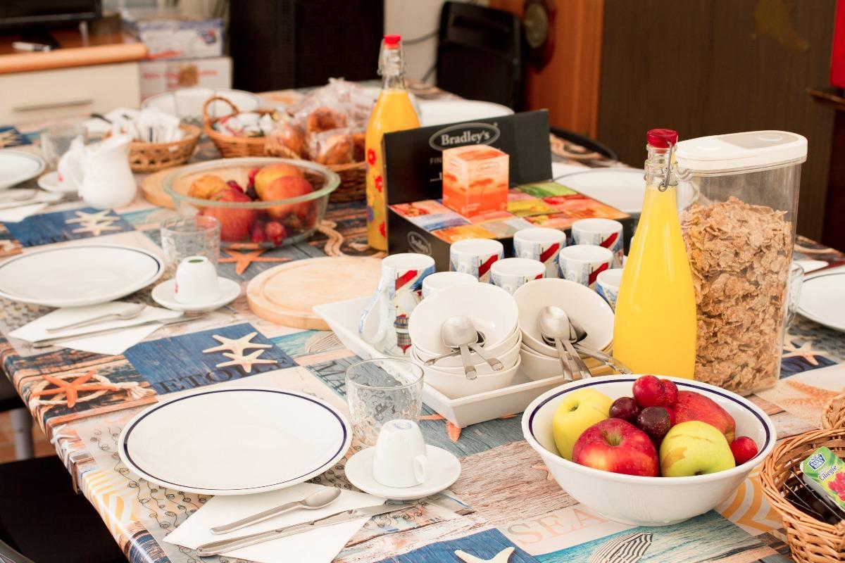 La colazione di VILLA SKANDERBEG B&B