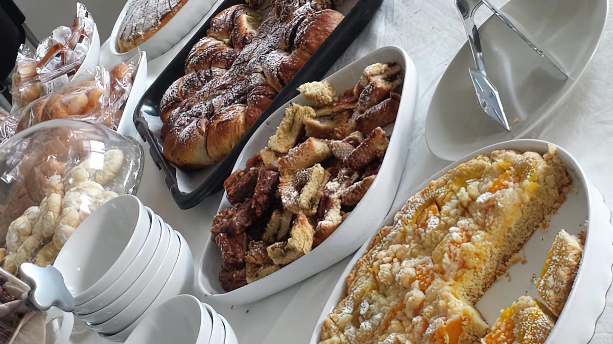 La colazione di B&B COLLE SELVOTTA