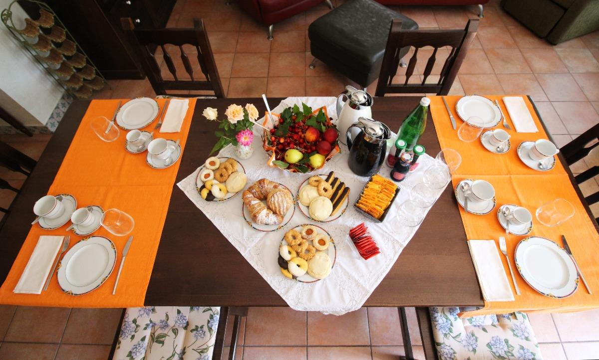 La colazione di PETRA