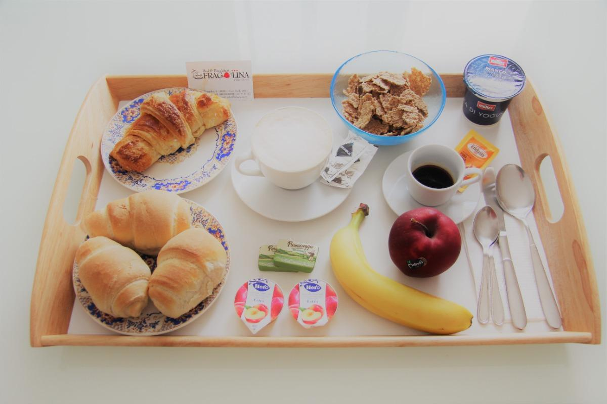 La colazione di FRAGOLINA B&B ***