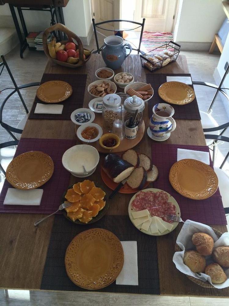 La colazione di B&B CHICCHI DI MELOGRANO
